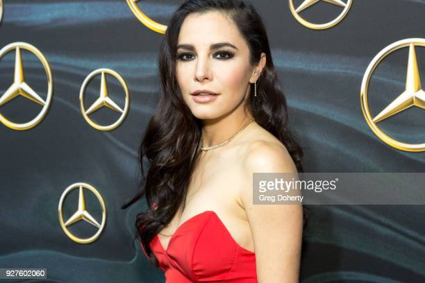 Actress Martha Higareda attends the MercedezBenz USA's Official Awards Viewing Party at Four Seasons Hotel Los Angeles at Beverly Hills on March 4...