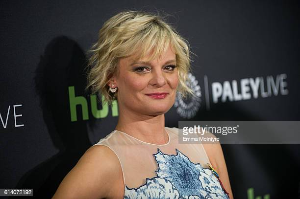 Actress Martha Plimpton arrives at the PaleyLive LA ABC's 'The Real O'Neals' Screening and Conversation at The Paley Center for Media on October 11...