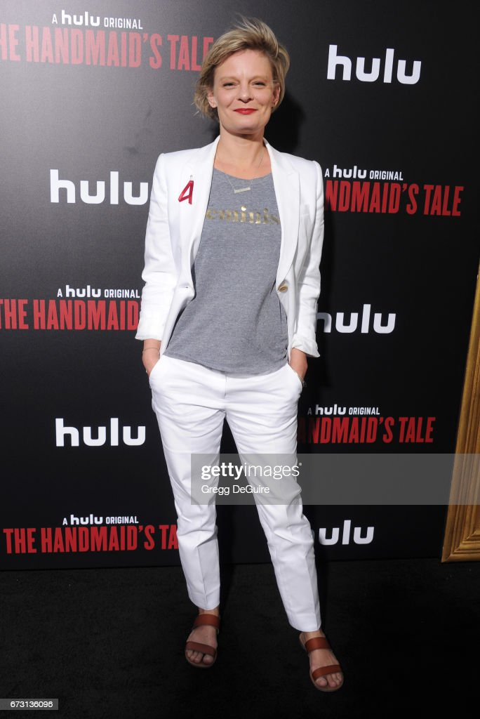 Actress Martha Plimpton arrives at the premiere of Hulu's 'The Handmaid's Tale' at ArcLight Cinemas Cinerama Dome on April 25, 2017 in Hollywood, California.