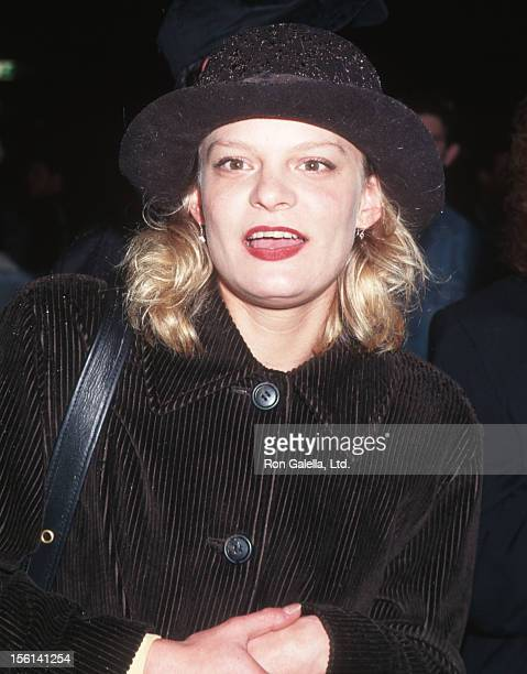 Actress Martha Plimpton attending the premiere of 'I Shot Andy Warhol' on April 29 1996 at Sony Lincoln Square Theater in New York City New York