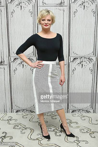 Actress Martha Plimpton attends AOL Build Speakers Series Martha Plimpton 'The Real O'Neals' at AOL Studios In New York on March 7 2016 in New York...