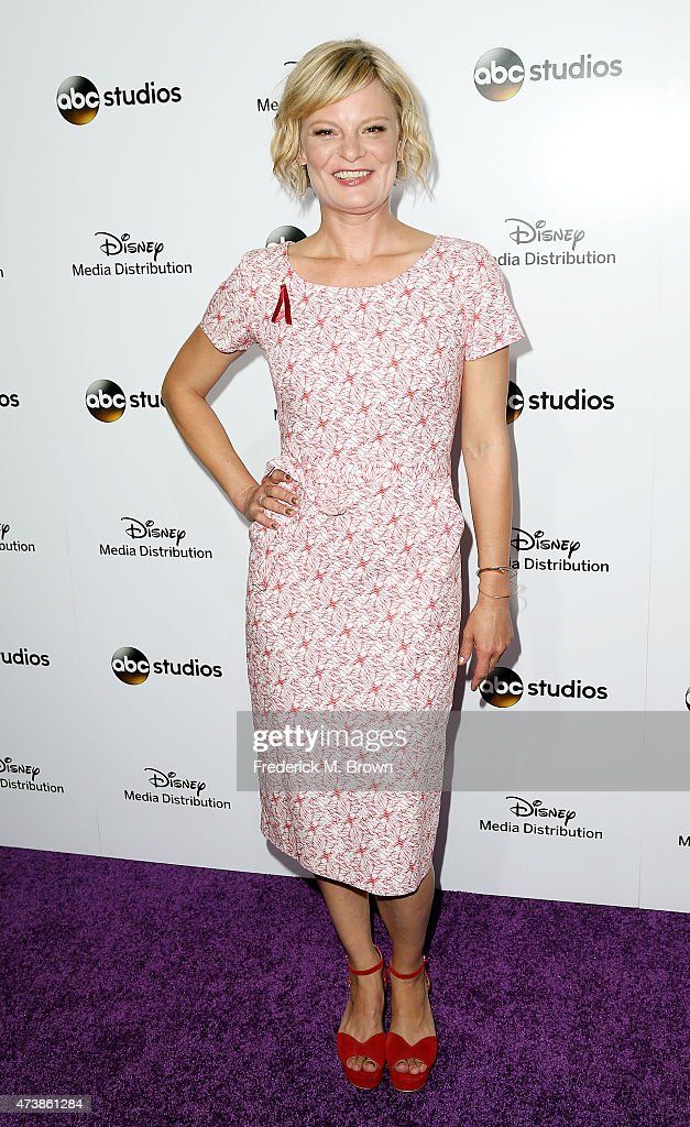 Actress Martha Plimpton attends Disney Media Disribution International Upfronts at Walt Disney Studios on May 17, 2015 in Burbank, California.