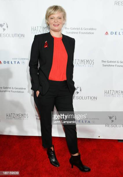 Actress Martha Plimpton attends Resolve 2013 fundraising gala at The Harvard Club on October 17 2013 in New York City