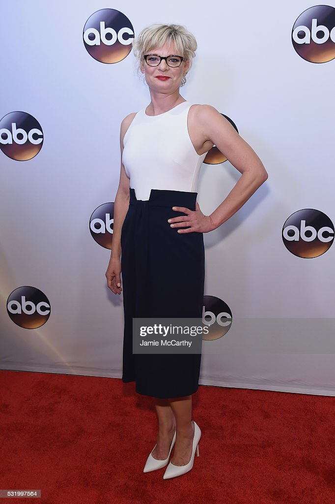 Actress Martha Plimpton attends the 2016 ABC Upfront at David Geffen Hall on May 17, 2016 in New York City.