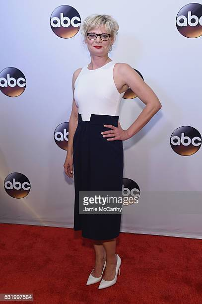 Actress Martha Plimpton attends the 2016 ABC Upfront at David Geffen Hall on May 17 2016 in New York City