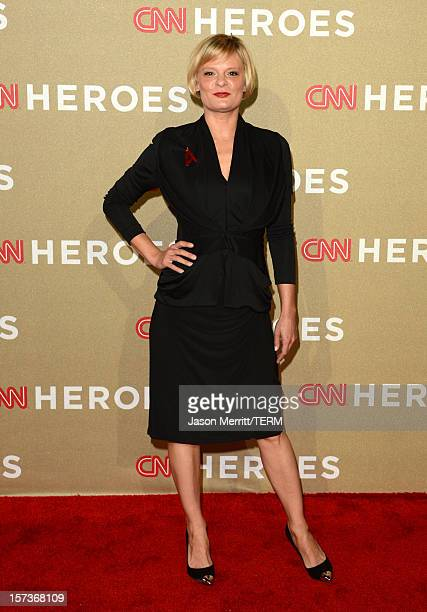 Actress Martha Plimpton attends the CNN Heroes: An All Star Tribute at The Shrine Auditorium on December 2, 2012 in Los Angeles, California....