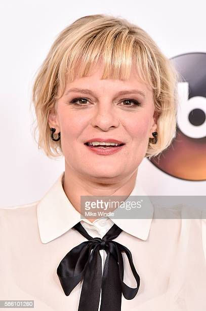 Actress Martha Plimpton attends the Disney ABC Television Group TCA Summer Press Tour on August 4 2016 in Beverly Hills California