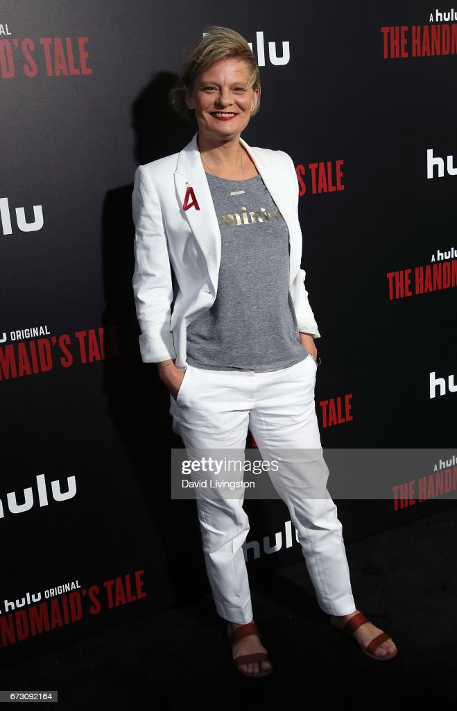 Actress Martha Plimpton attends the premiere of Hulu's 'The Handmaid's Tale' at ArcLight Cinemas Cinerama Dome on April 25, 2017 in Hollywood, California.