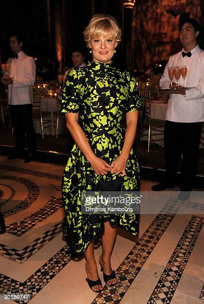 Actress Martha Plimpton attends The Princess Grace Awards Gala at Cipriani 42nd Street on October 21 2009 in New York City