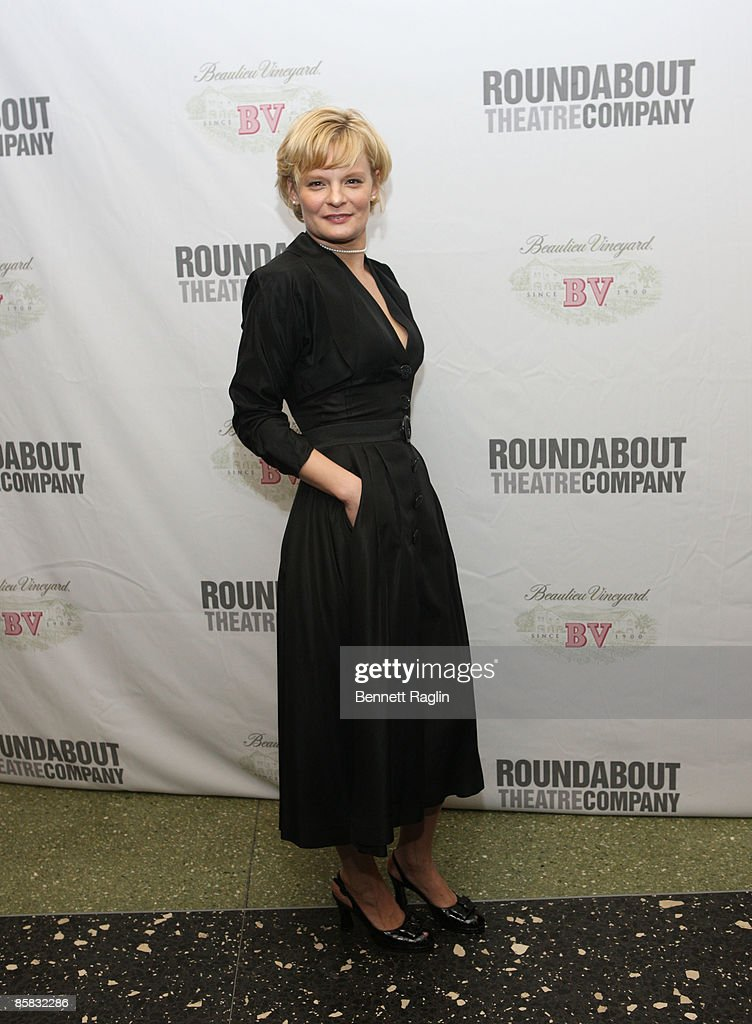 Actress Martha Plimpton attends the Roundabout Theatre Company's 2009 Spring Gala at Roseland Ballroom on April 6, 2009 in New York City.