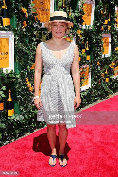Actress Martha Plimpton attends the sixth annual Veuve Clicquot Polo Classic on June 1 2013 in Jersey City