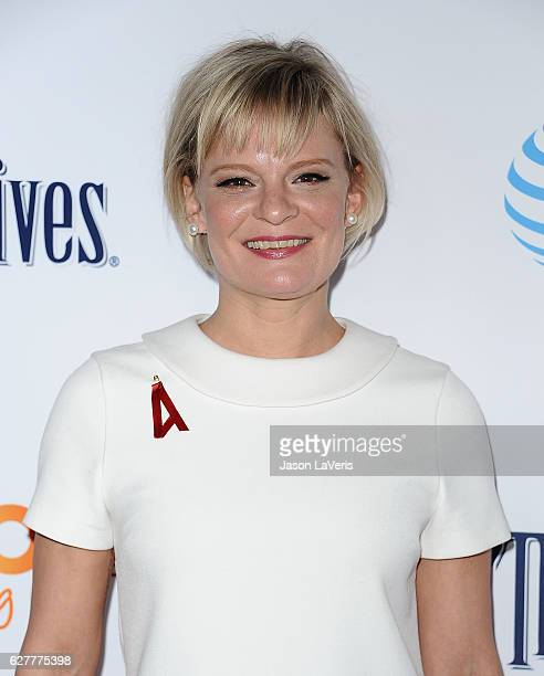 Actress Martha Plimpton attends the TrevorLIVE Los Angeles 2016 fundraiser at The Beverly Hilton Hotel on December 4 2016 in Beverly Hills California