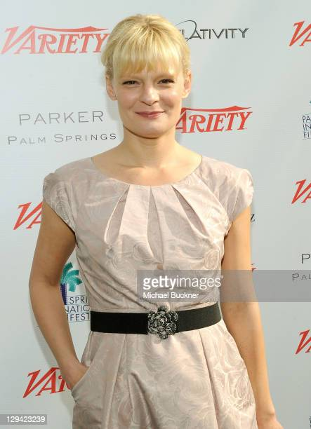 Actress Martha Plimpton attends Variety's Indie Impact and 10 Directors to Watch Brunch at Palm Springs International Film Festival at the Parker...