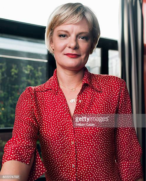 Actress Martha Plimpton is photographed for The Wrap on March 2 2016 in Los Angeles California