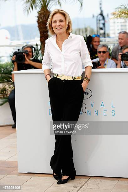 Actress Marthe Keller attends a photocall for Amnesia during the 68th annual Cannes Film Festival on May 19 2015 in Cannes France