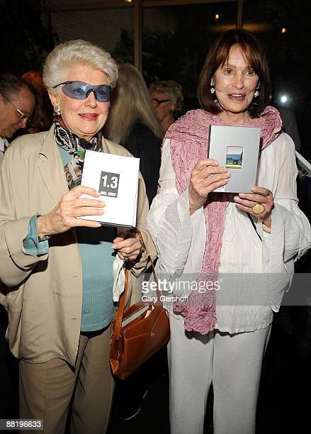 "Actress Marti Stevens , and heiress Gloria Vanderbilt attend a celebration for the release of ""1.3 - Images From My Phone"" at Michael's on June 3,..."