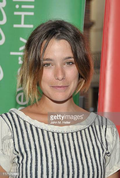 Actress Martina Codecasa attends La Dolce Vita honoring the 150th Anniversary of the Unification of Italy at Via Rodeo on June 23 2011 in Beverly...