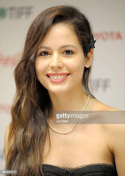 Actress Martina Garcia attends the 22nd Tokyo International Film Festival Closing Ceremony at Roppongi Hills on October 25 2009 in Tokyo Japan