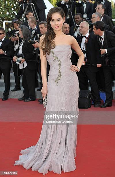 Actress Martina Garcia attends the premiere of 'Biutiful' held at the Palais des Festivals during the 63rd Annual International Cannes Film Festival...