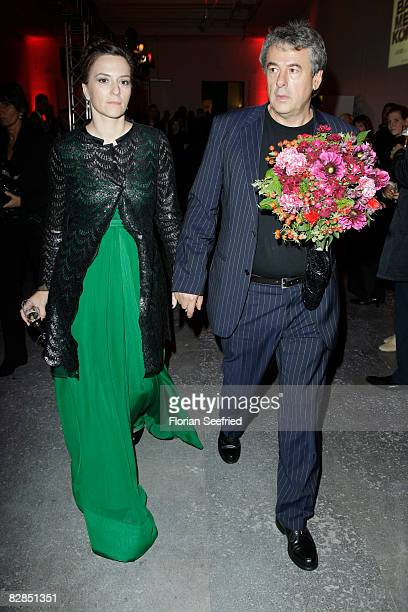 Actress Martina Gedeck and partner Markus Imboden attend the 'The Baader Meinhof Complex' After Party at the 'Haus der Kulturen' on September 16 2008...