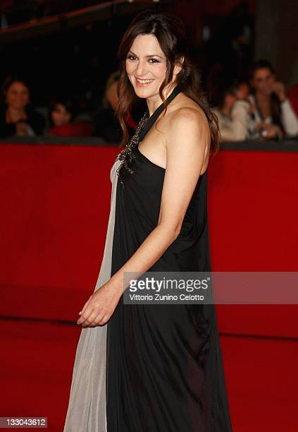 Actress Martina Gedeck attends The Baader Meinhof Complex Premiere during the 3rd Rome International Film Festival held at the Auditorium Parco della...