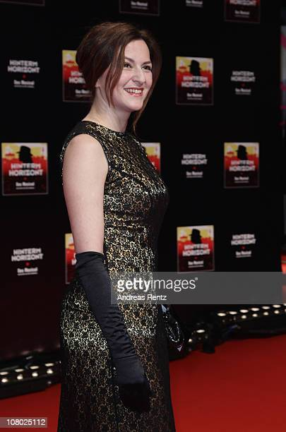 Actress Martina Gedeck attends the 'Hinterm Horizont' musical premiere at Theater am Potsdamer Platz on January 13 2011 in Berlin Germany