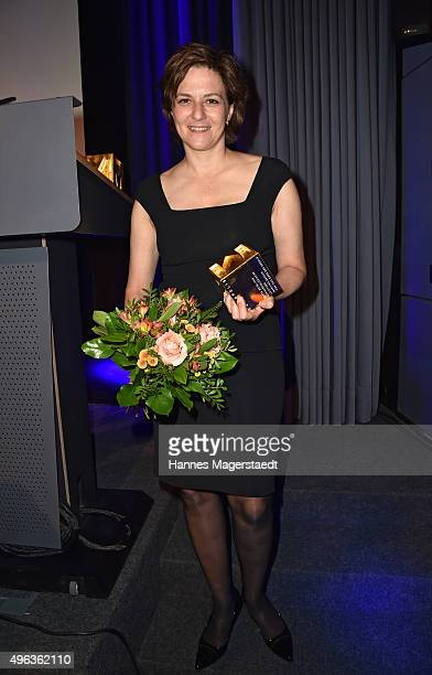 Actress Martina Gedeck during the 5th German Director Award Metropolis at HFF on November 8 2015 in Munich Germany