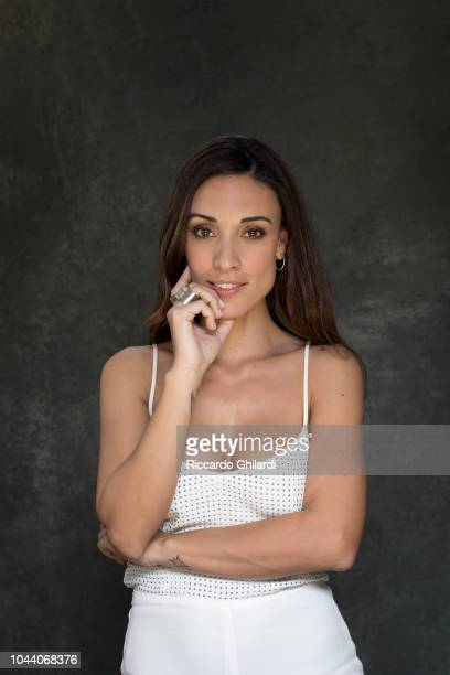 Actress Martina Gusman is photographed for Self Assignment on September 2018 in Venice Italy