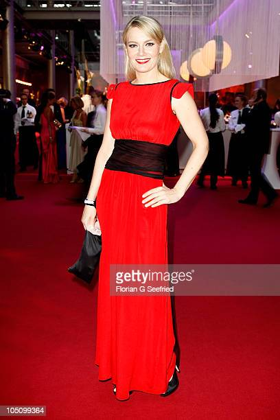 Actress Martina Hill attends the German TV Award 2010 at Coloneum on October 9 2010 in Cologne Germany