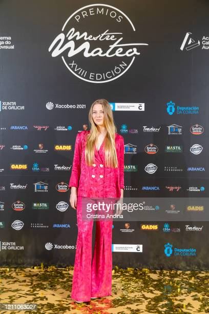 Actress Martina Stetson attends the Mestre Mateo Awards in A Coruna on March 07 2020 in A Coruna Spain