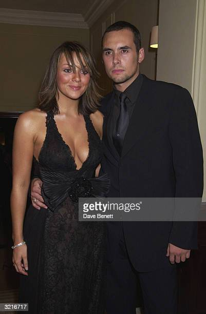 Actress Martine McCutcheon with her boyfriend Stephen at the West End opening night and AfterParty of 'My Fair Lady' starring Martine McCutcheon...