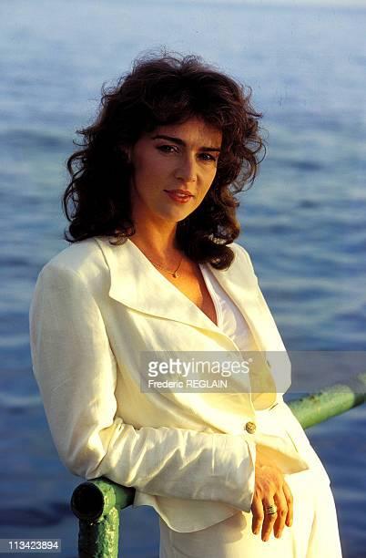 Actress Maruschka Detmers On June 1996 In Russie