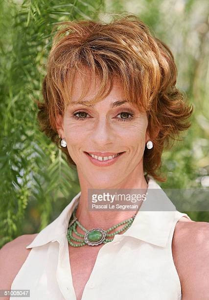 Actress Maruschka Detmers poses during a photo call on the second day of the 44th MonteCarlo Television Festival at The Grimaldi Forum on June 28...