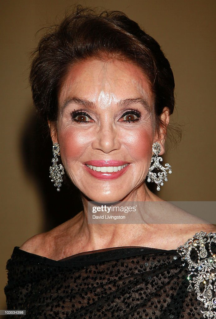 Actress Mary Ann Mobley attends the Eagle & Badge Foundation Gala Honors at the Hyatt Regency Century Plaza on August 21, 2010 in Century City, California.