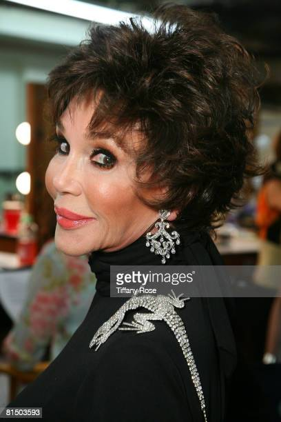 Actress Mary Ann Mobley poses at What a Pair 6 at The Orpheum Theatre on June 8 2008 in Los Angeles CA