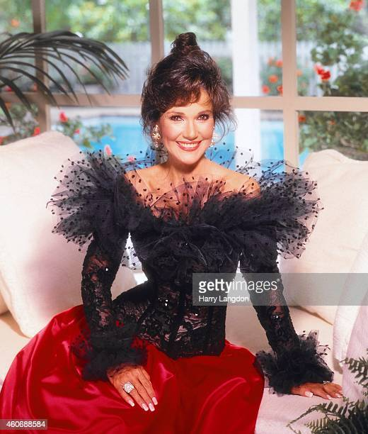Actress Mary Ann Mobley poses for a portrait in 1984 in Los Angeles California
