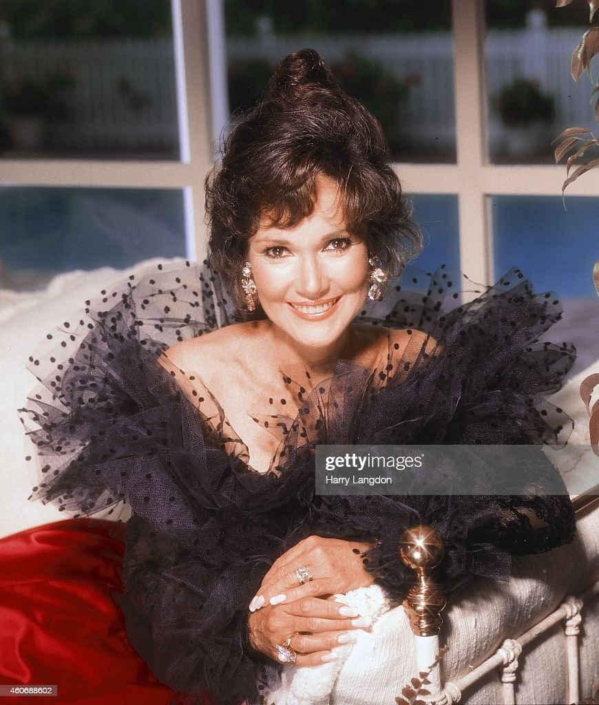Actress Mary Ann Mobley poses for a portrait in 1984 in Los Angeles, California.