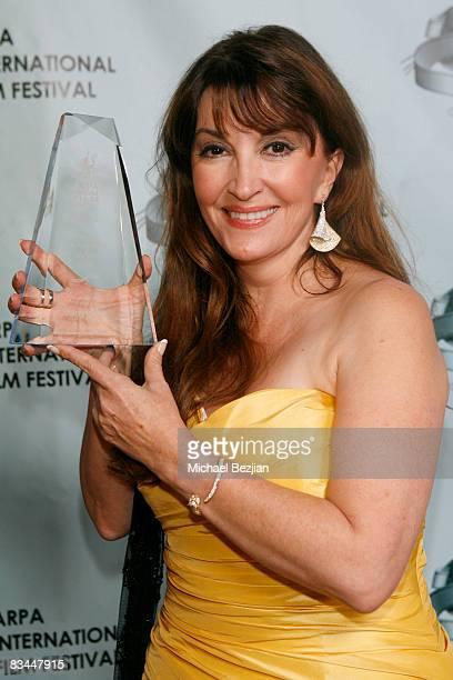 Actress Mary Apick attends the 2008 Apra International Film Festival Closing Night Awards Gala on October 26 2008 in Los Angeles California