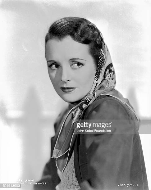 Actress Mary Astor for Paramount Pictures in a promotional shot for the movie 'Jennie Gerhardt' 1933