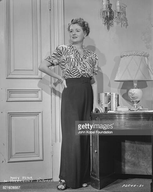 Actress Mary Astor for Paramount Pictures in a scene from the movie 'Desert Fury' 1947