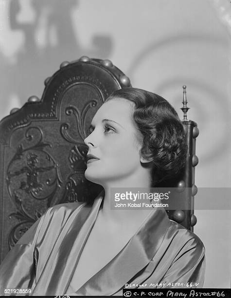 Actress Mary Astor in a promotional shot for Columbia Pictures circa 19301945