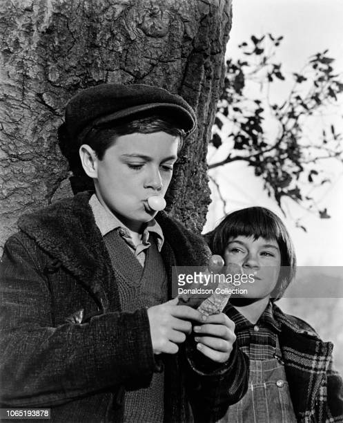 Actress Mary Badham and Phillip Alford in a scene from the movieTo Kill a Mockingbird
