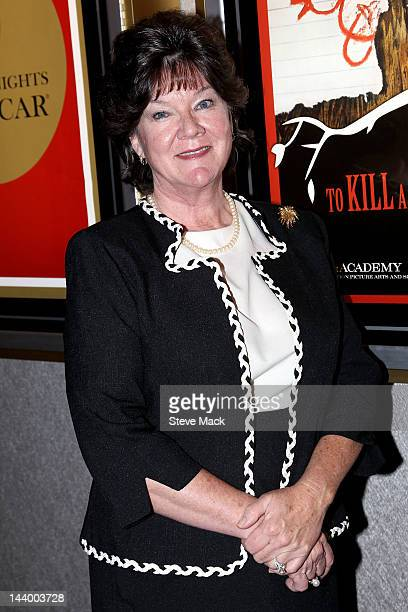 """Actress Mary Badham attends the AMPAS 50th Anniversary Screening Of """"To Kill A Mocking Bird"""" at the Academy Theater at Lighthouse International on..."""