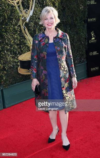 Actress Mary Beth Evans attends the 45th Annual Daytime Creative Arts Emmy Awards at Pasadena Civic Auditorium on April 27 2018 in Pasadena California