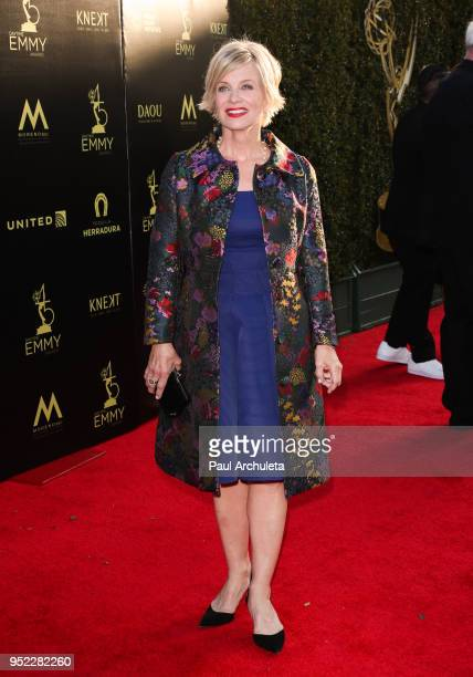 Actress Mary Beth Evans attends the 45th Annual Daytime Creative Arts Emmy Awards at the Pasadena Civic Auditorium on April 27 2018 in Pasadena...