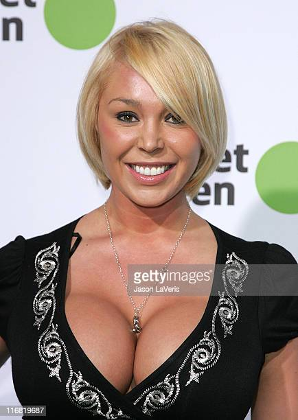 Actress Mary Carey attends the Planet Green launch party at the Greek Theater on May 28 2008 in Los Angeles California