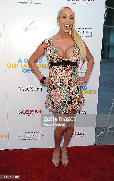 Actress Mary Carey attends the screening of Samuel Goldwyn Films' A Good Old Fashioned Orgy at Arclight Cinemas on August 25 2011 in Los Angeles...