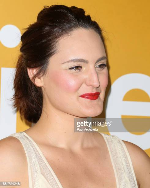 Actress Mary Chieffo attends the premiere of 'Gifted' at Pacific Theaters at the Grove on April 4 2017 in Los Angeles California
