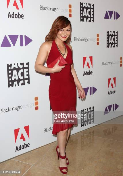 Actress Mary Christina Brown attends the 69th annual ACE Eddie Awards at The Beverly Hilton Hotel on February 01 2019 in Beverly Hills California