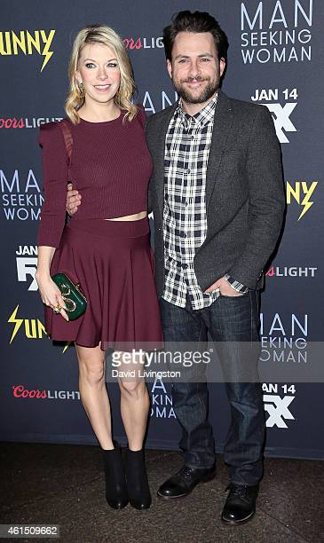 Actress Mary Elizabeth Ellis and husband actor Charlie Day attend the premieres of FXX's It's Always Sunny in Philadelphia 10th Season and Man...